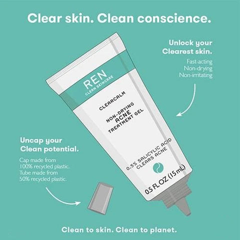 Clearcalm Non-Drying Acne Treatment Gel