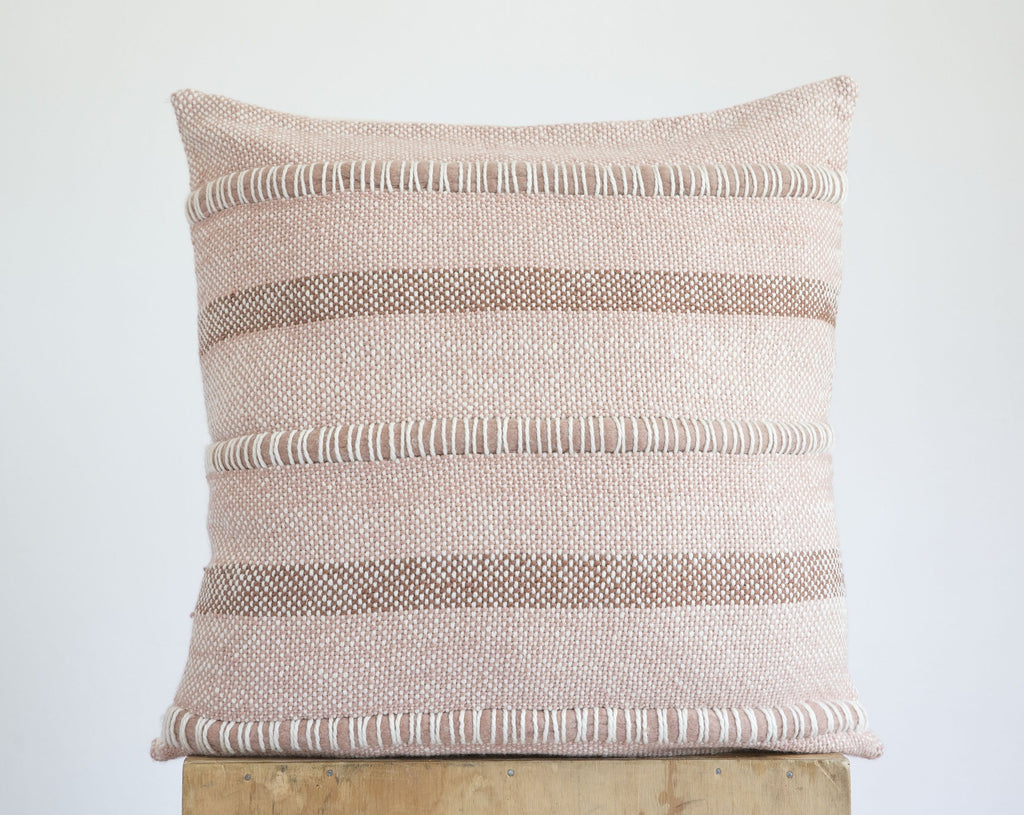 CRISTA Pillow in Dark Sandalo