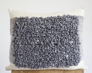 MOSAICO Pillow in Grey