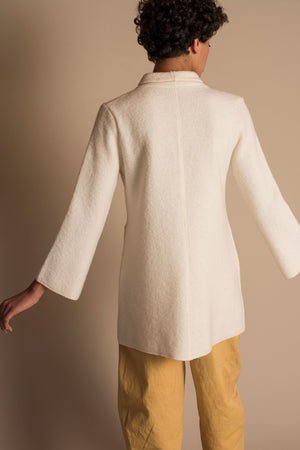 NEPTUNO Sweater Dress in Ivory