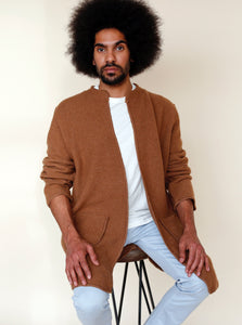 BASTO Cardigan in Tobacco