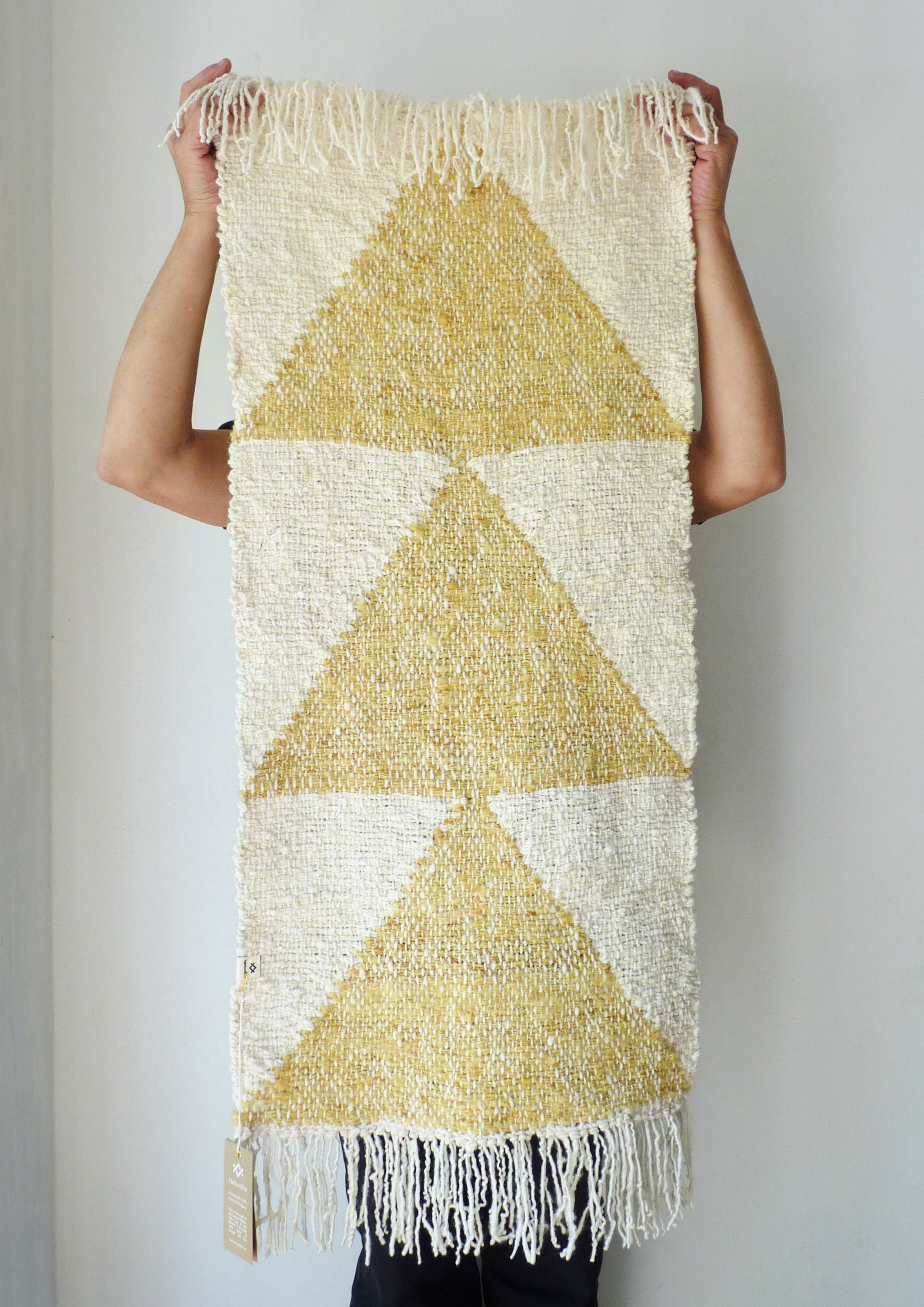 ARROW Small Rug in Yellow