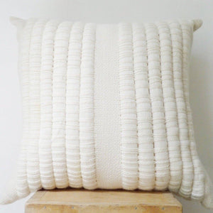 AIRE Pillow in Ecru