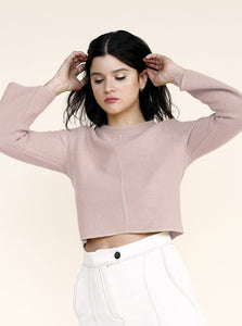 UNO Sweater in Rose