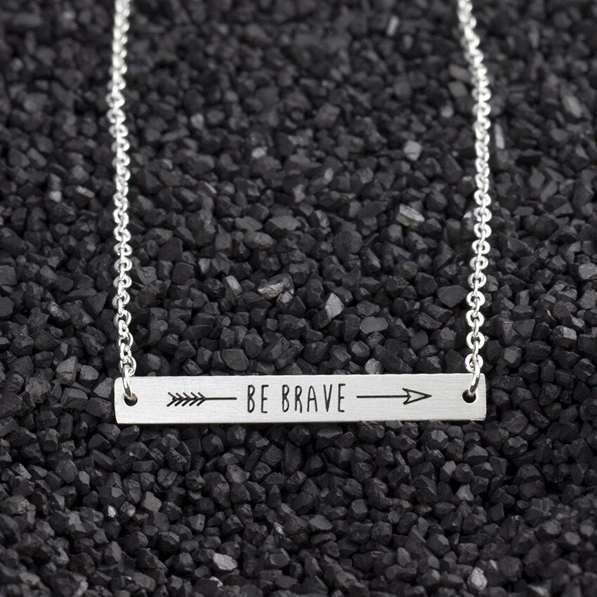 Be Brave Necklace - Julie Porter