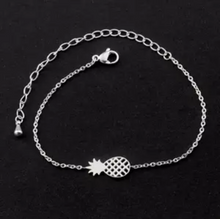 Load image into Gallery viewer, Pineapple bracelet/anklet - Julie Porter