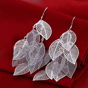 Falling Leaves Pierced Earrings