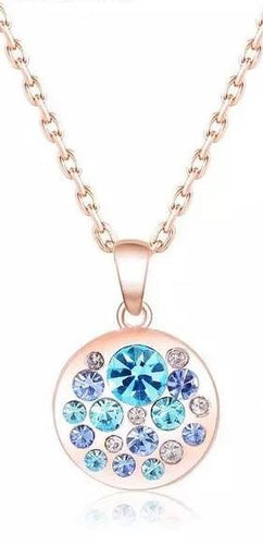 Aqua Marine Necklace - Julie Porter