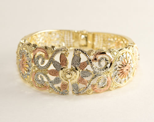 Morning Burst Filigree Cuff Bracelet - Julie Porter