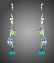 Load image into Gallery viewer, Splash pierced earrings