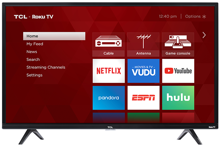 "TCL Smart TV  32"" LED - Roku(Refurbished)"