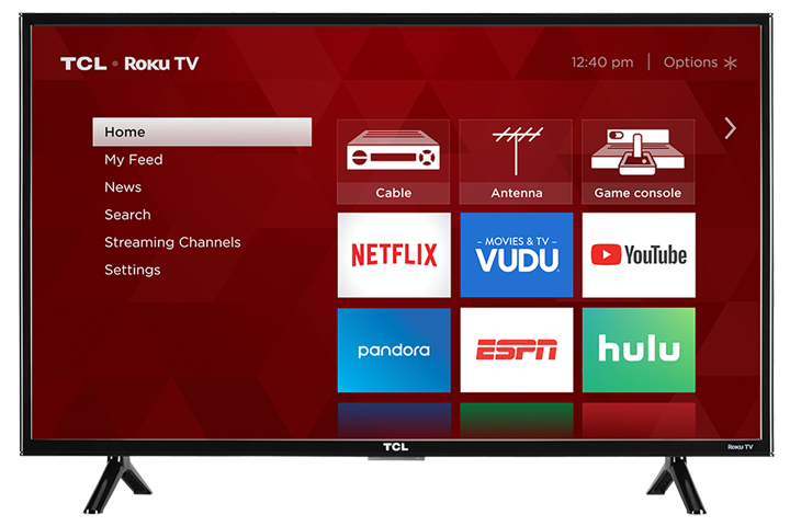 "TCL Smart TV 43"" LED(Refurbished)"