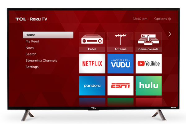 "TCL Smart TV 43"" LED - Roku(Refurbished)"