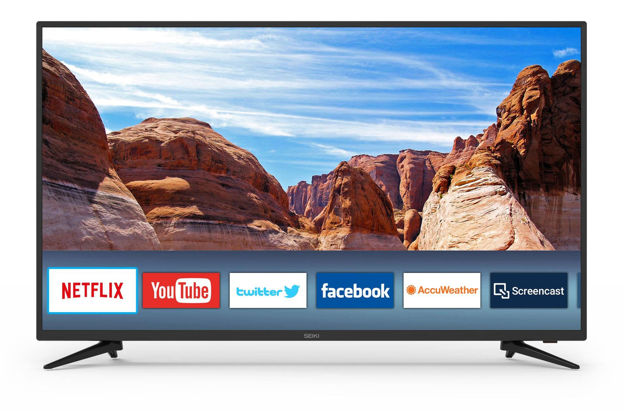 "SEIKI TV 50"" 4K Ultra HD Smart(Refurbished)"