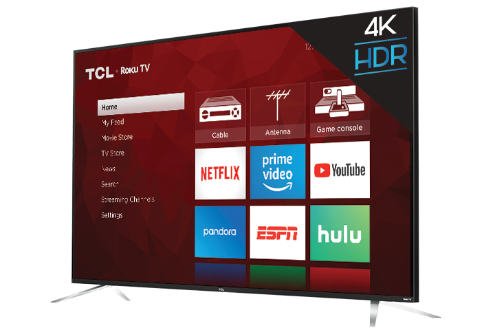 "TCL Smart TV 75"" LED 4K(Refurbished)"