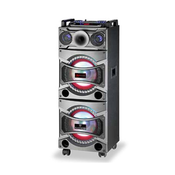 "Blackmore Bocina Amplificada 2X10"" 2300 Watts , Bluetooth ,  Usb ,  Sd ,  Radio Fm ,"