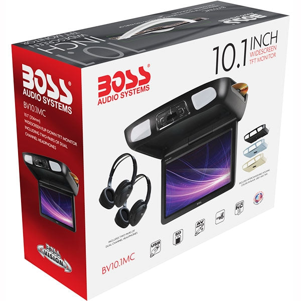 "Boss Pantalla 10.1"" Con Dvd Multiregion"
