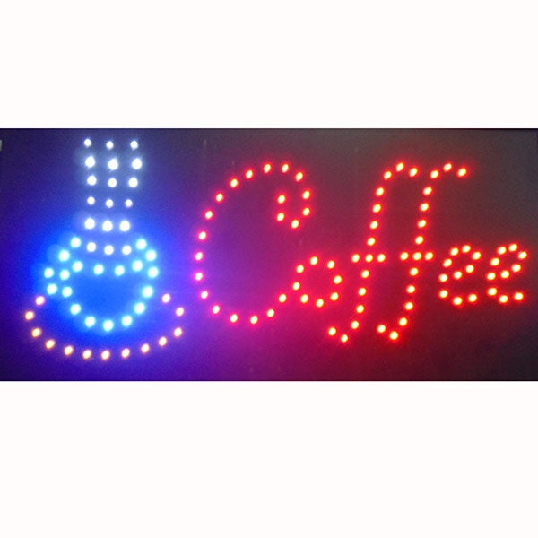Letrero Luminoso Coffee