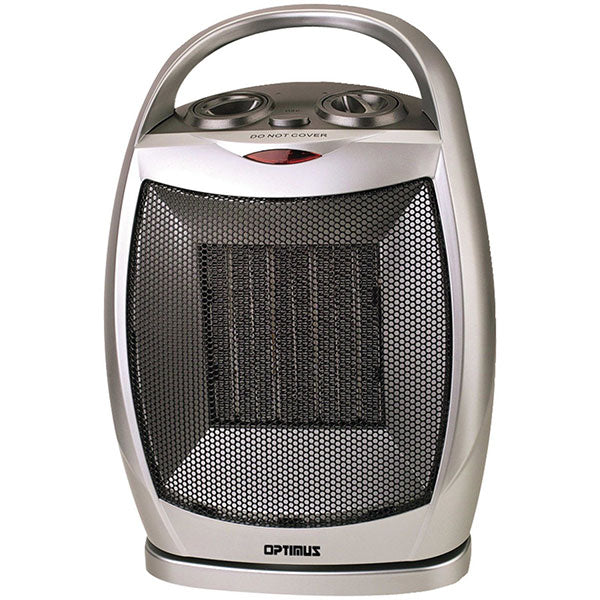 Optimus Calenton Electrico De 750 A 1500 Watts Color Gris