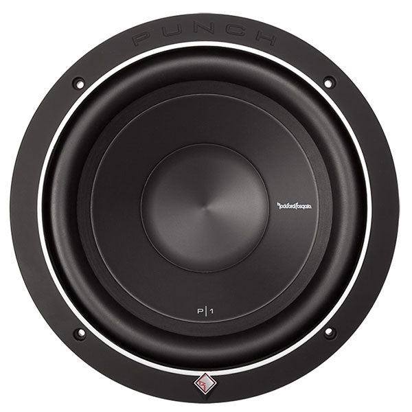 "Rockford Fosgate Punch Bajo 10"" 500 Watts"