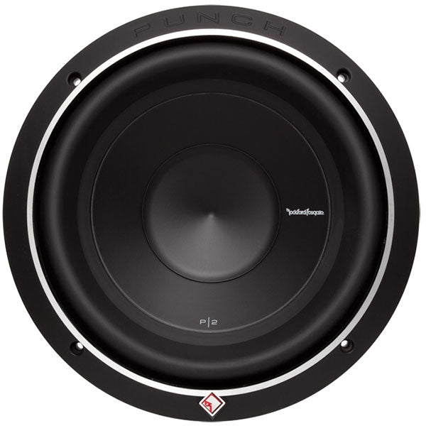 "Rockford Fosgate Punch Bajo Doble Bobina 10"" 600 Watts"