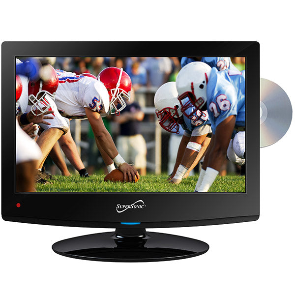 "Supersonic Tv 15"" Led , Dvd , Ac Dc 12V, Cable Incluido"