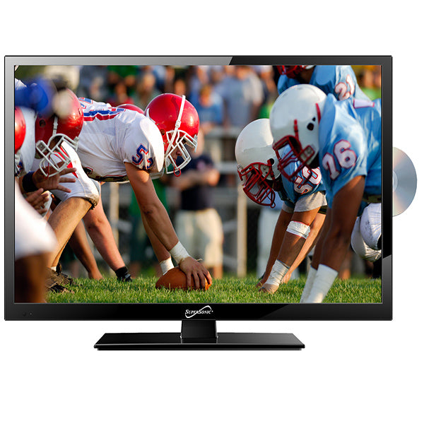 "Supersonic Tv 19"" Led , Dvd , Ac Dc 12V, Cable Incluido"