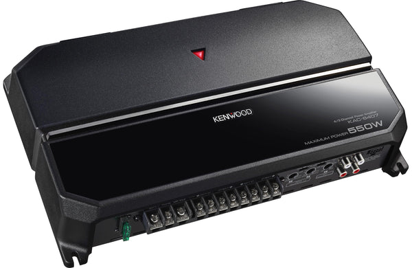 Kenwood KAC-6407 4-channel Car Amplifier - 550W