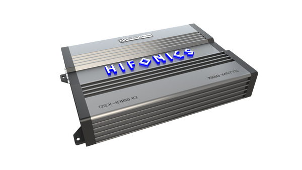 Hifonics GEX-19001D Amplifier  1900 Watt Mono 1 ohm Stable