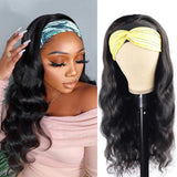 Body Wave Headband Wigs Affordable Half Wig Styles