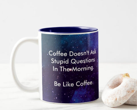 """SUMMER 2021 Subscription SALE! All GrimpeurBros.com subscriptions ordered by midnight ET, on August 31, 2021 will get our NEW """"Be Like Coffee 11oz mug FOR FREE PLUS an EXTRA MONTH of COFFEE FOR FREE! No code is needed. Order TODAY"""