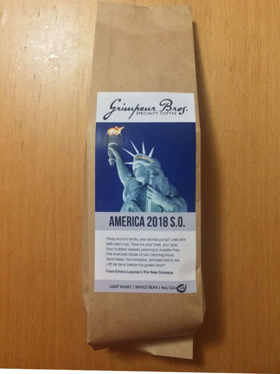 America 2018 Single Origin Coffee