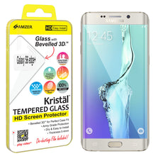 Load image into Gallery viewer, Amzer Kristal™ Tempered Glass HD Edge2Edge Clear Screen Protector for Samsung Galaxy S6 edge Plus SM-G928F