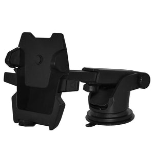 Long Telescopic Arm Universal Sticky Suction Mount - Black