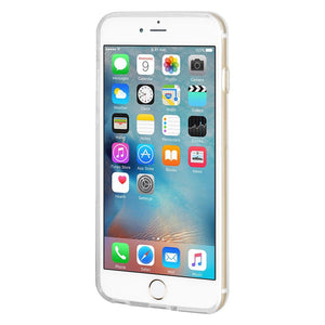 Ultra Thin Protective Cover Soft Gel Shockproof TPU Skin Case Tongue Out for iPhone 6 - Clear
