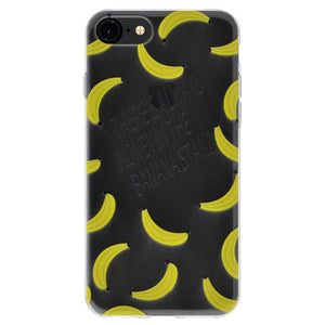 Cover Soft Gel TPU Skin Case Modern Banana Print for iPhone 6 6s