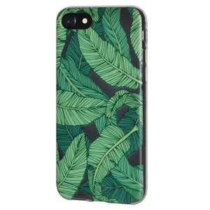 TPU Skin Case Tropical Leaf for iPhone 6+ 6s+ Plus