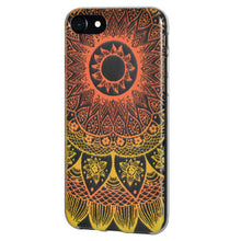 Load image into Gallery viewer, Protective Cover Soft Gel Shockproof TPU Skin Case Mandala Sunset for iPhone 6 Plus - Clear