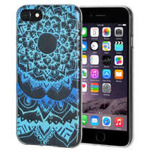 Load image into Gallery viewer, Protective Cover Soft Gel Shockproof TPU Skin Case Mandala Ocean for iPhone 6 Plus - Clear