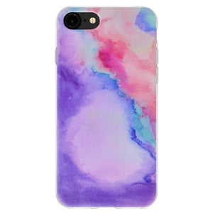TPU Skin Case Abstract Watercolor for iPhone 6+ 6s+ Plus