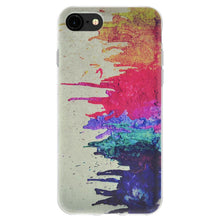 Load image into Gallery viewer, Protective Cover Soft Gel Shockproof TPU Skin Case Abstract Modern Art for iPhone 6 Plus - Clear