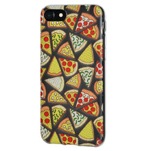 Load image into Gallery viewer, Ultra Thin Protective Cover Soft Gel Shockproof TPU Skin Case Pizza Print for iPhone 7 - Clear