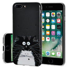 Load image into Gallery viewer, Ultra Thin Protective Cover Soft Gel Shockproof TPU Skin Case Cat for iPhone 7 Plus - Clear