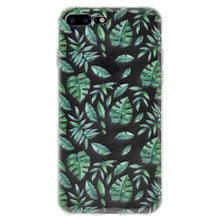 Load image into Gallery viewer, Protective Cover Soft Gel Shockproof TPU Skin Case Woodland Fern for iPhone 7 Plus - Clear
