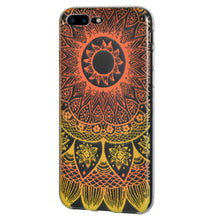 Load image into Gallery viewer, Ultra Thin TPU Skin Case  Mandala Purple Zen for iPhone 7+ 8+ Plus