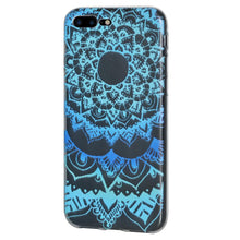 Load image into Gallery viewer, Ultra Thin TPU Skin Case Mandala Sunset for iPhone Plus 7+ 8+ plus  - Clear
