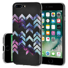 Load image into Gallery viewer, Ultra Thin TPU Skin Case Arrow Print for iPhone 7+ 8+ Plus - Clear