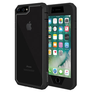 AMZER Shockproof Full Body Hybrid Case for iPhone 7+ 8+ Plus