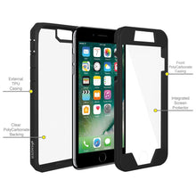 Load image into Gallery viewer, AMZER Shockproof Full Body Hybrid Case for iPhone 7+ 8+ Plus