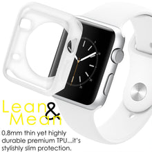 Load image into Gallery viewer, AMZER Shockproof Cover TPU Watch Case for Apple Watch Series 1/2/3 42MM - Clear